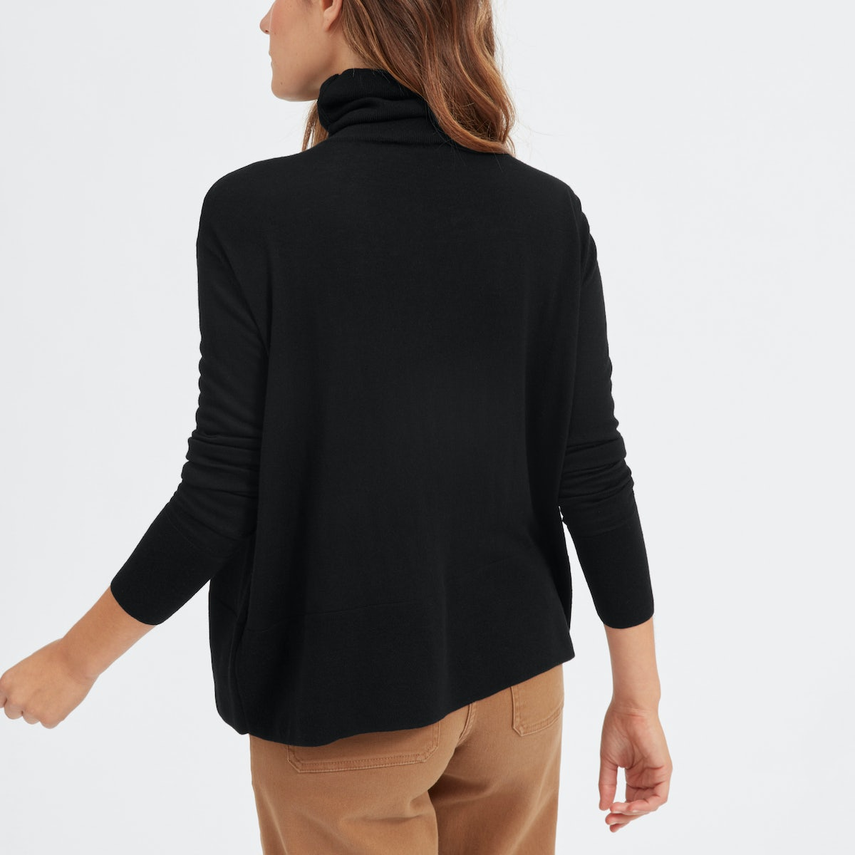 Women's Luxe Wool Square Turtleneck | Everlane