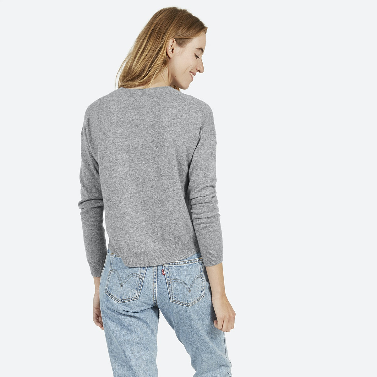 Women's Cashmere Cropped Crew | Everlane