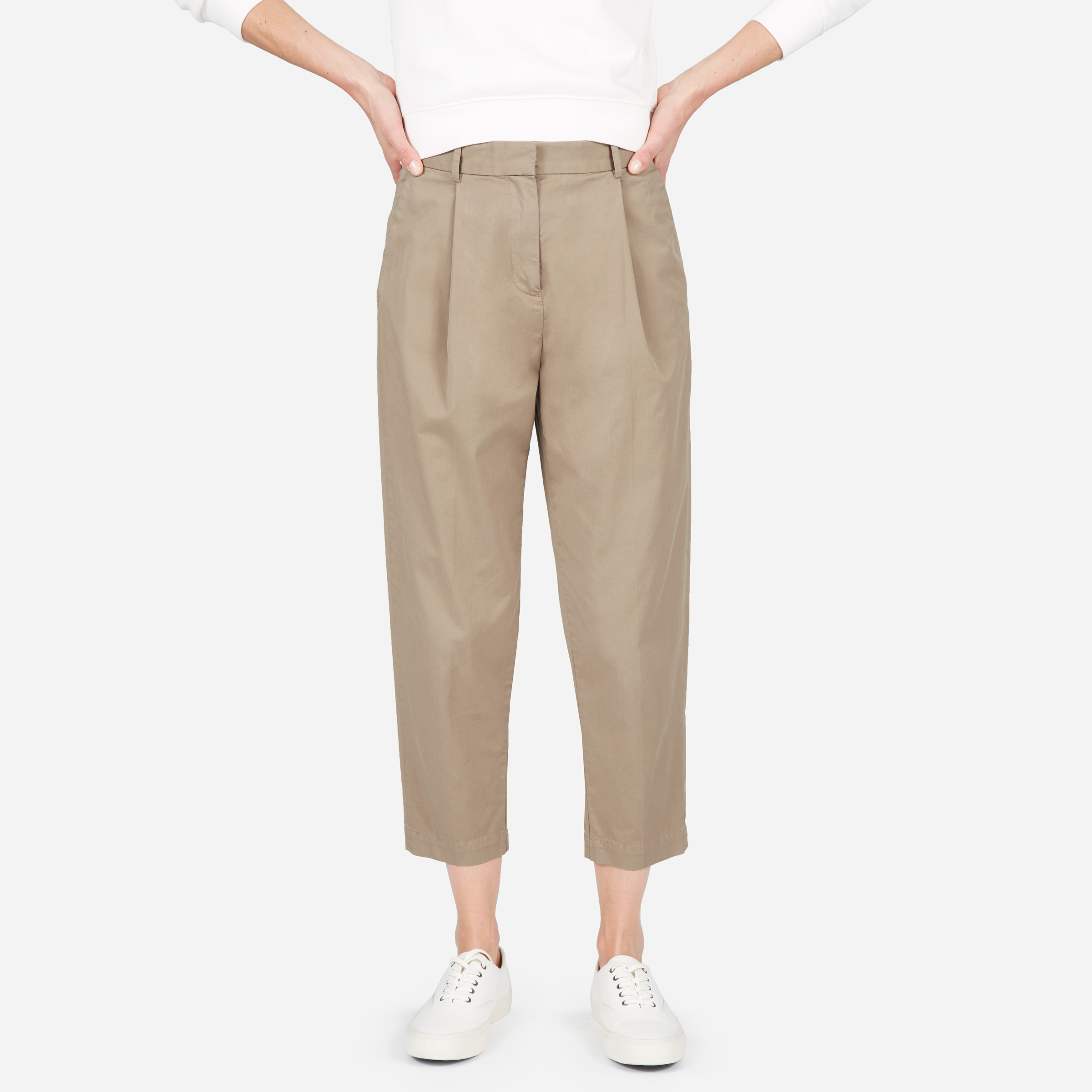 The Slouchy Chino Pant - Khaki