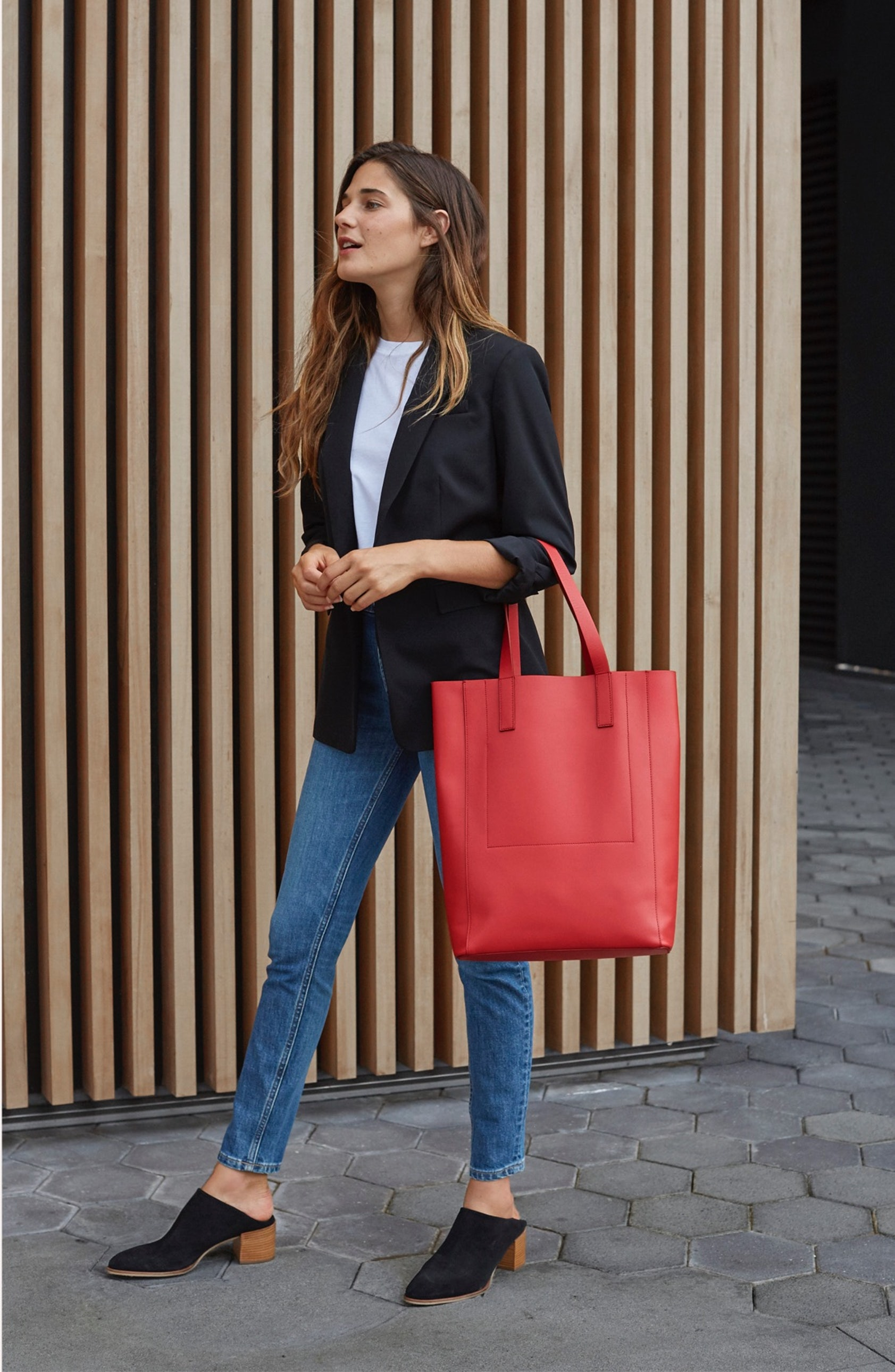45302a0936f The Day Magazine Tote in Red