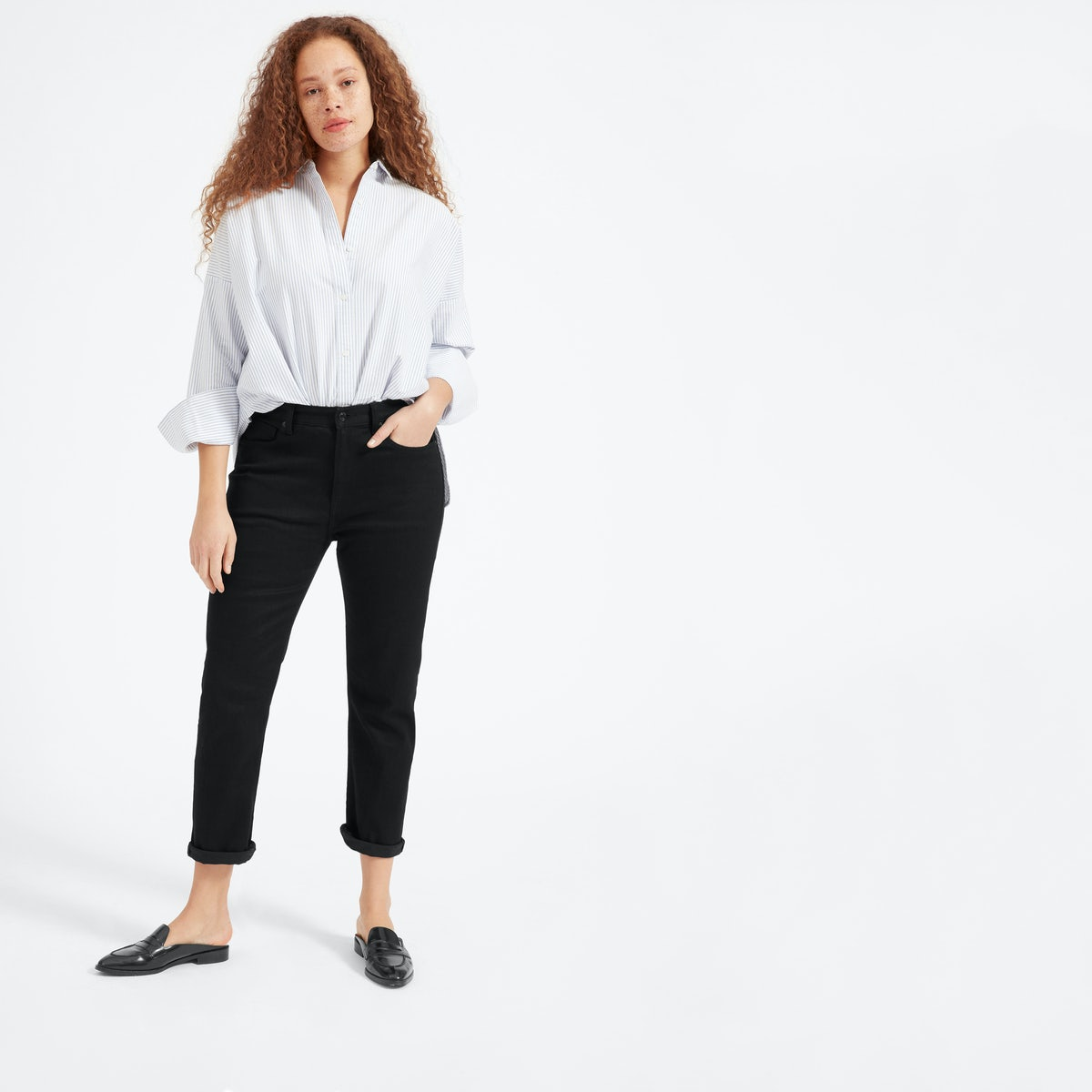 c188ade1ea7c 30 Days of Outfit Ideas  How to Style Black Jeans - BeautyMommy