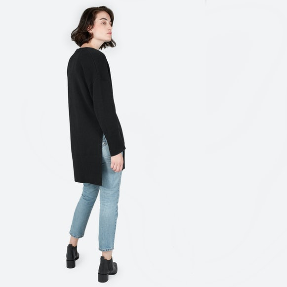 Women's Wool-Cashmere Oversized Long Cardigan | Everlane