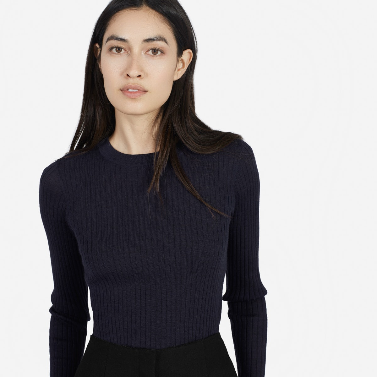 Women's Ribbed Wool Long-Sleeve | Everlane