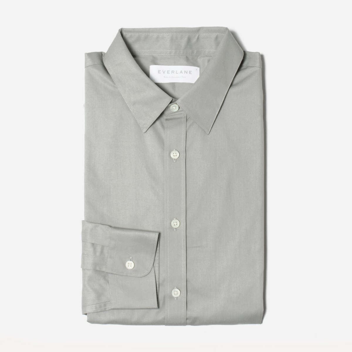 The Italian Dress Shirt - Grey