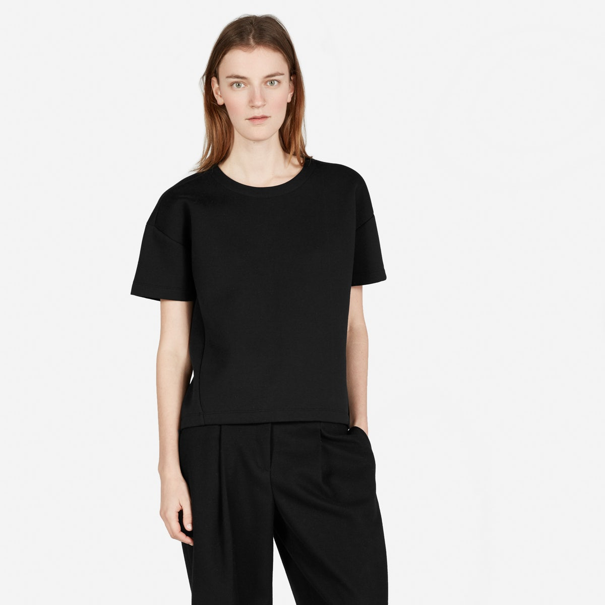 Women's Street Fleece Short-Sleeve Sweatshirt | Everlane