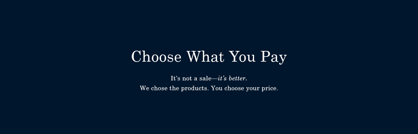 men s choose what you pay everlane